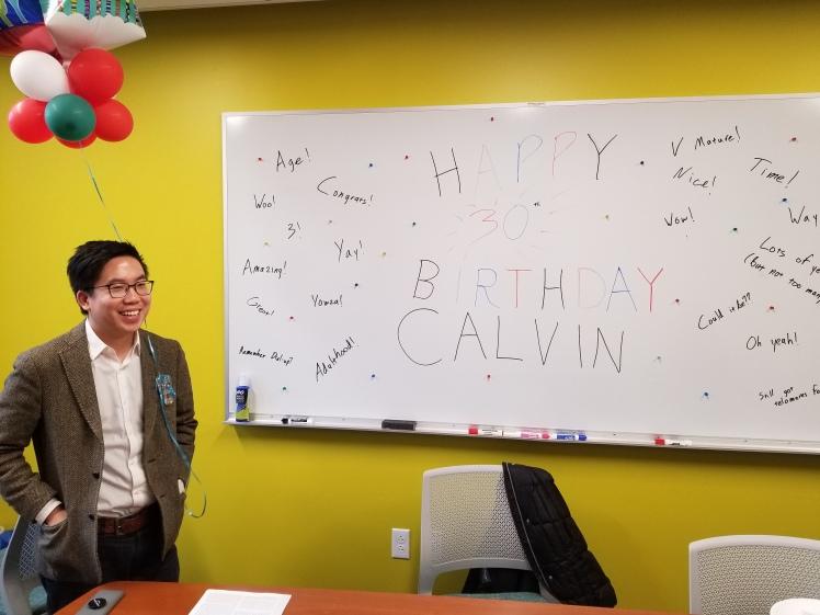 Calvin Birthday